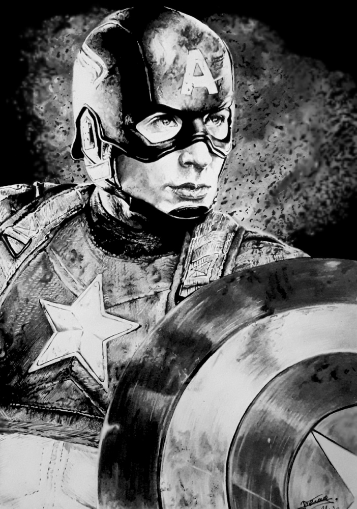 Chris Evans by aljackson